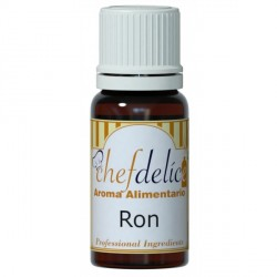 AROMA CONCENTRADO DE RON 10ML CHEF DELICE