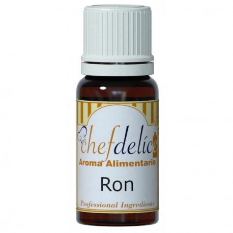 AROMA CONCENTRADO DE RON 10ML CHEF...