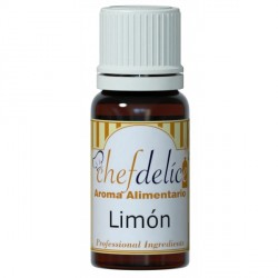 AROMA CONCENTRADO DE LIMON 10ML CHEF DELICE