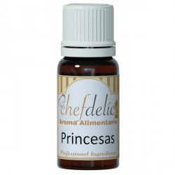 AROMA CONCENTRADO DE PRINCESAS 10ML CHEF DELICE