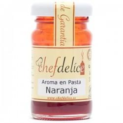AROMA DE NARANJA EN PASTA 50GR CHEF DELICE