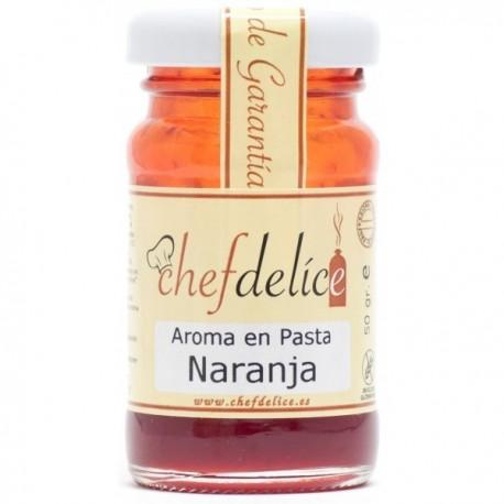 AROMA DE NARANJA EN PASTA 50GR CHEF...