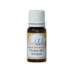 AROMA CONCENTRADO DE FRUTAS DEL BOSQUE 10ML CHEF DELICE