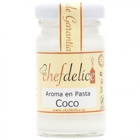 AROMA DE COCO EN PASTA 50GR CHEF DELICE