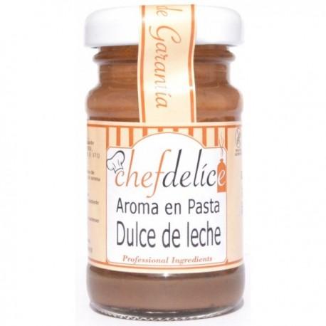 AROMA DE DULCE DE LECHE EN PASTA 50GR CHEF DELICE