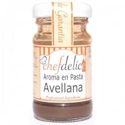 AROMA DE AVELLANA EN PASTA 50GR CHEF DELICE