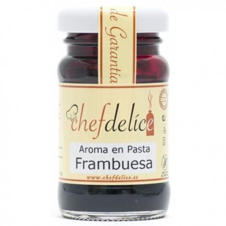 AROMA DE FRAMBUESA EN PASTA 50GR CHEF DELICE