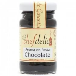 AROMA DE CHOCOLATE EN PASTA 50GR CHEF DELICE