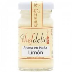 AROMA DE LIMÓN EN PASTA 50GR CHEF DELICE