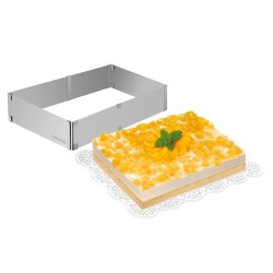 ARO EXTENSIBLE RECTANGULAR INOX