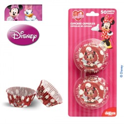 SET 50 CÁPSULAS CUPCAKES MINNIE