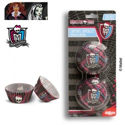 SET 50 CÁPSULAS CUPCAKES MONSTER HIGH
