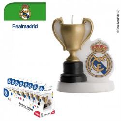 VELA ESCUDO REAL MADRID