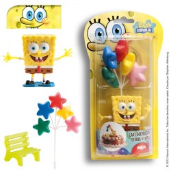KIT DECORACIÓN BOB ESPONJA