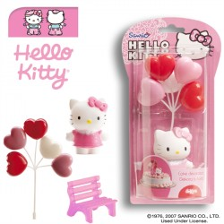 KIT DECORACIÓN HELLO KITTY