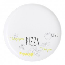 PLATO PARA PIZZA 32CM FRIENDS TIME BISTROT LUMINARC