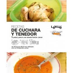 LIBRO RECETAS DE CUCHARA Y TENEDOR LEKUE