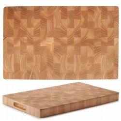 TABLA DE CORTE RUBBER WOOD 53X32,5CM