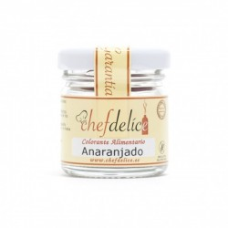 COLORANTE EN POLVO ANARANJADO 20GR CHEF DELICE