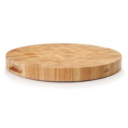 TABLA DE CORTE RUBBER WOOD REDONDA 40CM
