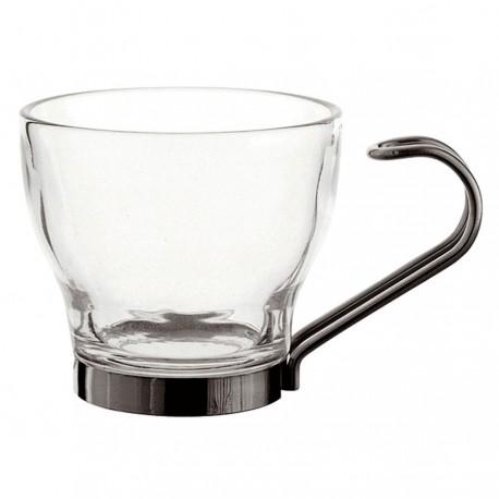 KIT  3 TAZAS CAFE CON ASA INOX