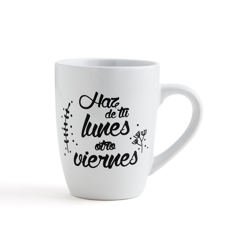 Mug happy day 33cl table kitchen for Set tazas desayuno