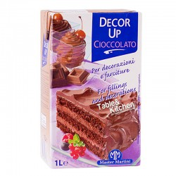 NATA VEGETAL DE CHOCOLATE DECOR UP 1L