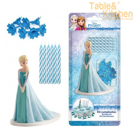 KIT DECORACIÓN CON VELAS FROZEN