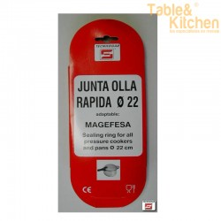 JUNTA SILICONA PARA OLLA MAGEFESA 22CM