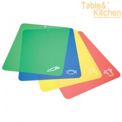 SET 4 TABLAS DE CORTE FLEXIBLES KITCHEN CRAFT