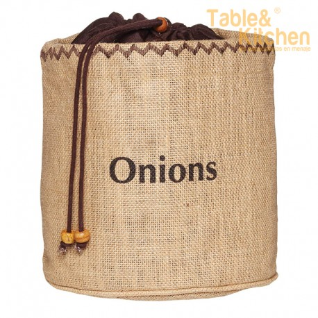 BOLSA CON FORRO PARA CEBOLLAS KITCHEN CRAFT