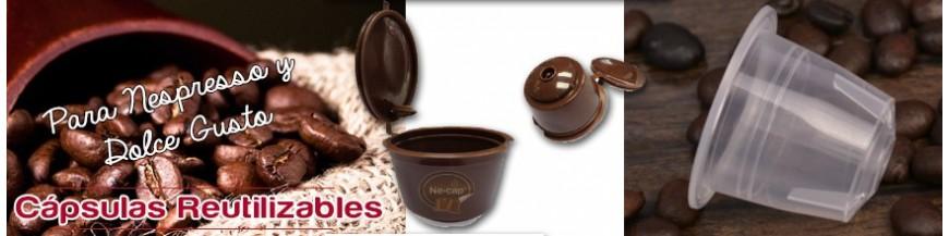 Cápsulas Reutilizables  Nespresso y Dolce gusto
